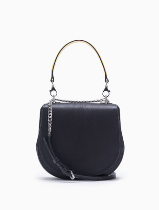 CALVIN KLEIN CURVED SMALL SADDLE BAG