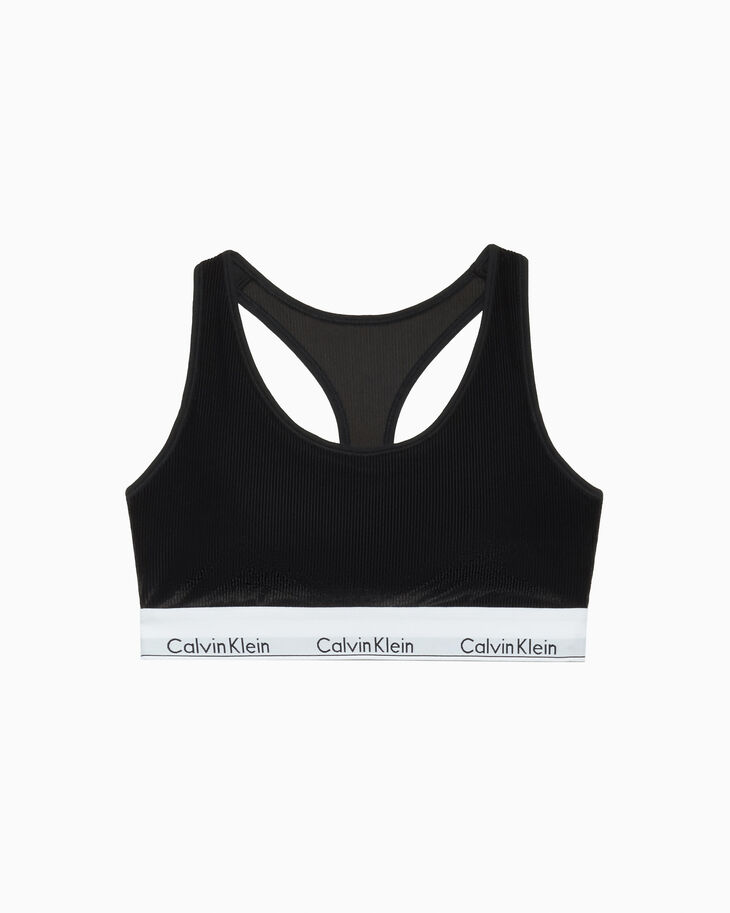 CALVIN KLEIN MODERN VELVET LIGHTLY LINED BRALETTE