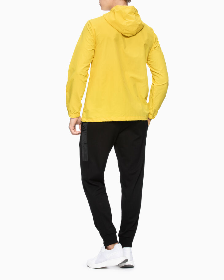 CALVIN KLEIN STATEMENT ESSENTIALS LOGO ANORAK