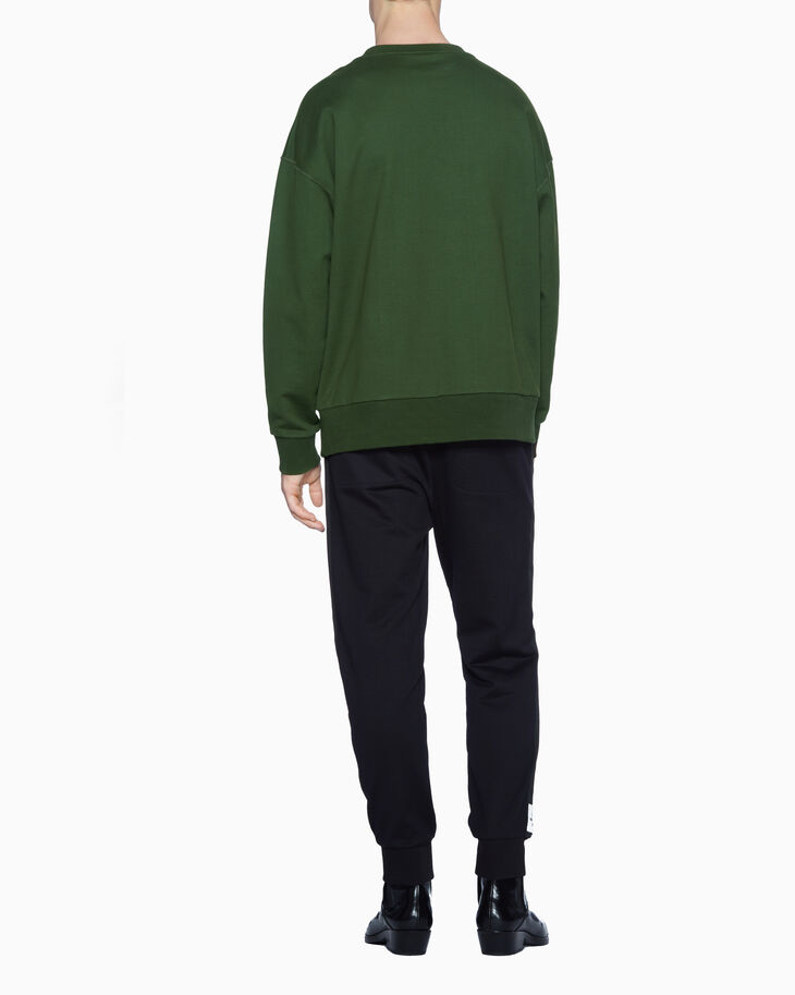 CALVIN KLEIN STRETCH TERRY SWEATSHIRT