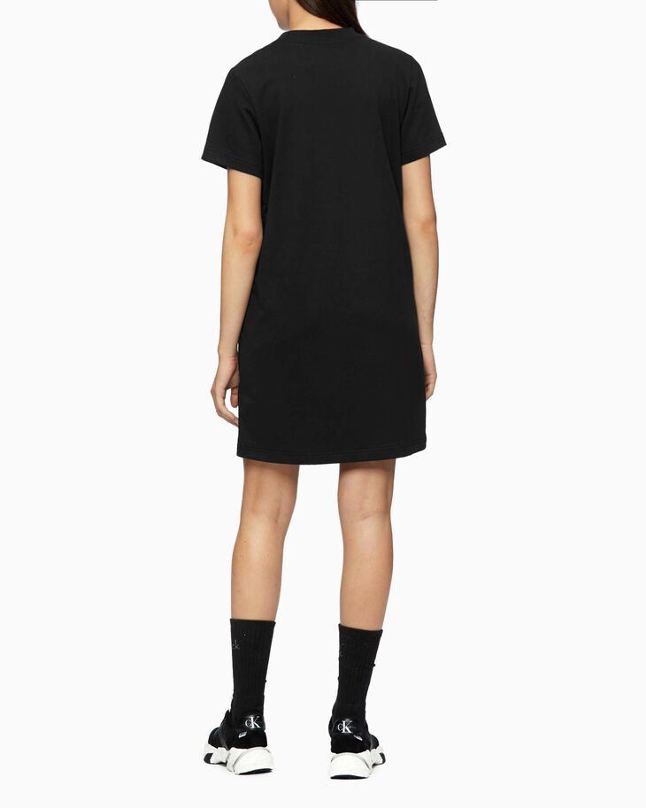 CALVIN KLEIN INSTITUTIONAL MESH FRONT DRESS