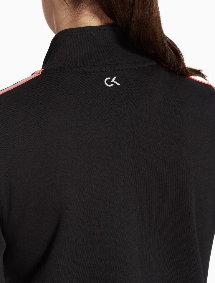 CALVIN KLEIN BOX LOGO STRIPE 재킷