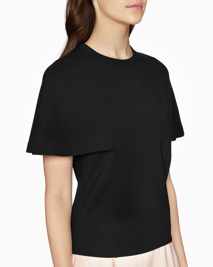 CALVIN KLEIN CAPE SLEEVE TOP