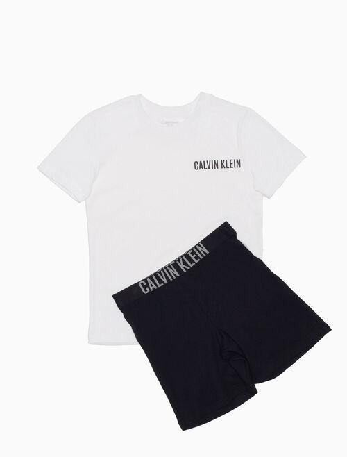 CALVIN KLEIN 男孩款針織睡衣組