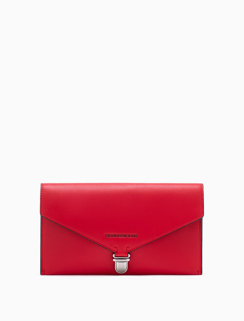 CALVIN KLEIN SCULPTED ENVELOP CLUTCH