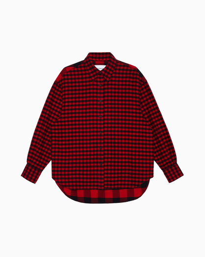 CALVIN KLEIN BUFFALO CHECK SHIRT