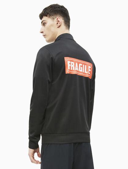 CALVIN KLEIN WARHOL FRAGILE PRINT トラックジャケット