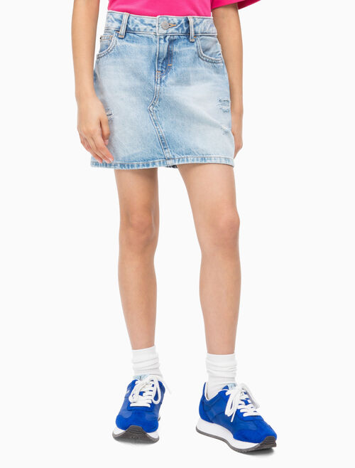 CALVIN KLEIN GIRLS DENIM SKIRT