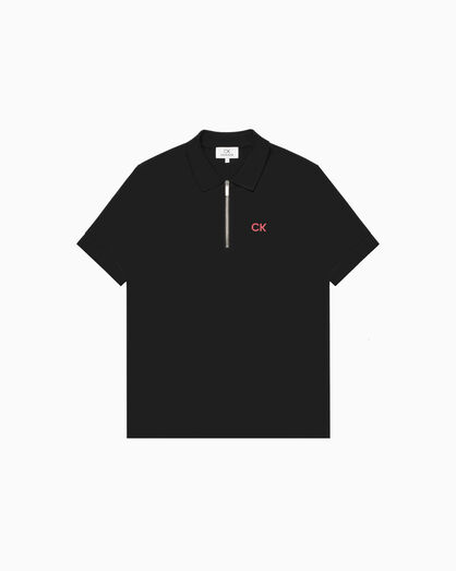 CALVIN KLEIN COTTON PIQUE POLO SHIRT