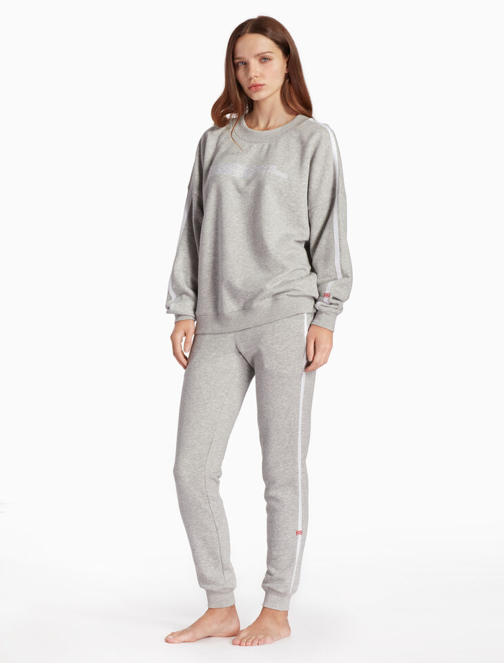CALVIN KLEIN STATEMENT LOUNGE SWEATSHIRT