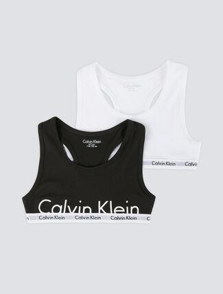 CALVIN KLEIN ロゴマニア2パック ブラレット