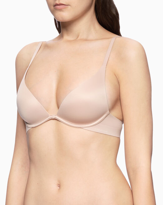CALVIN KLEIN LIQUID TOUCH LIGHTLY LINED PLUNGE BRA