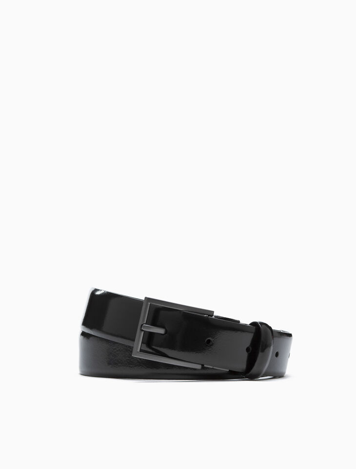 CALVIN KLEIN REVERSIBLE DRESS BUCKLE BELT
