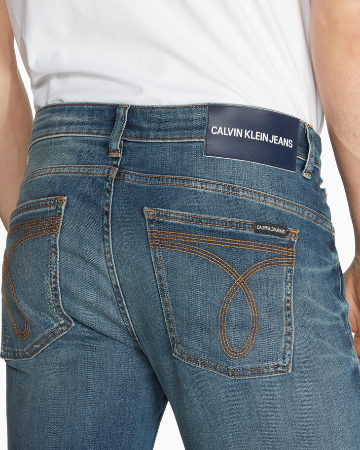 CALVIN KLEIN CKJ 027 DISTRESSED 바디 진