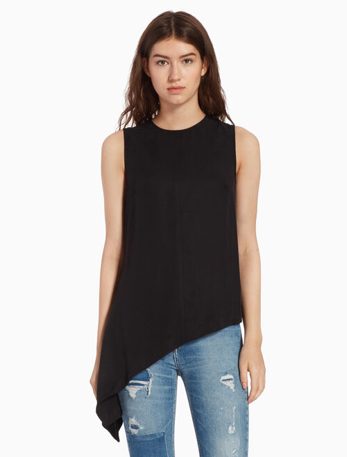 CALVIN KLEIN ASYMMETRIC TOP