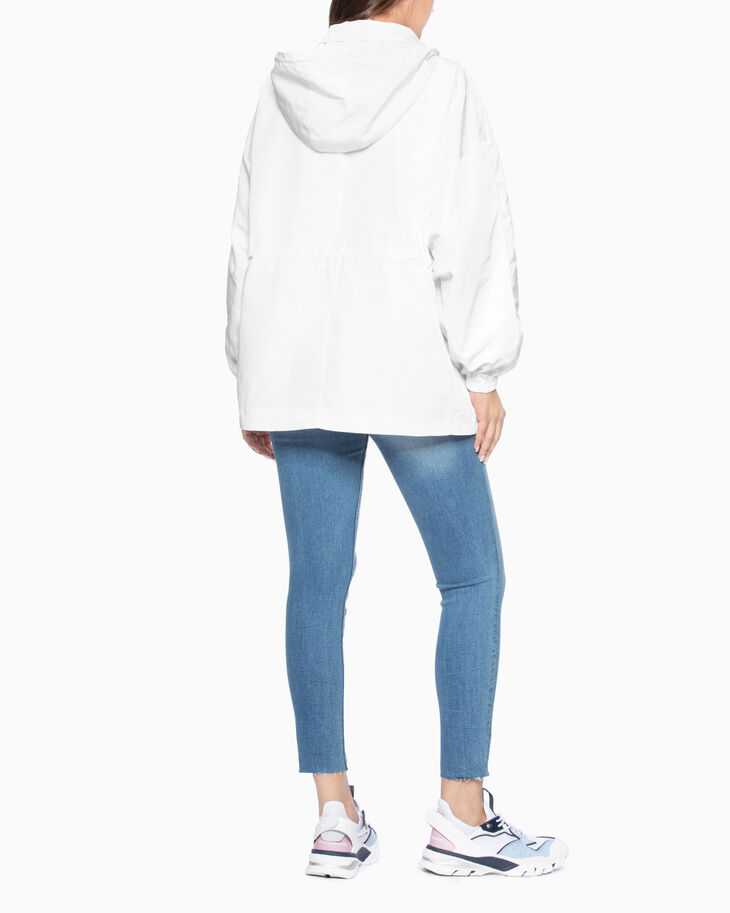CALVIN KLEIN ZIP UP HOODED JACKET