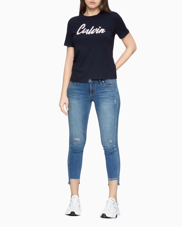 CALVIN KLEIN VARSITY ロゴ T シャツ