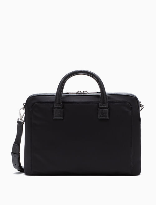 CALVIN KLEIN MIX FARBIC BRIEFCASE