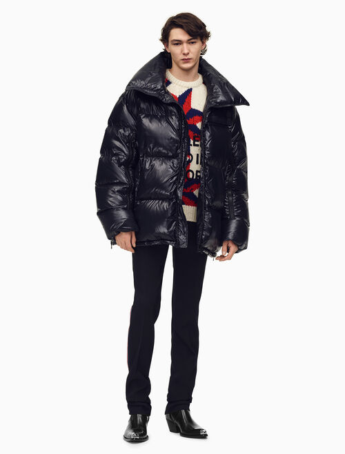 CALVIN KLEIN Oversized Puffer Jacket In Nylon