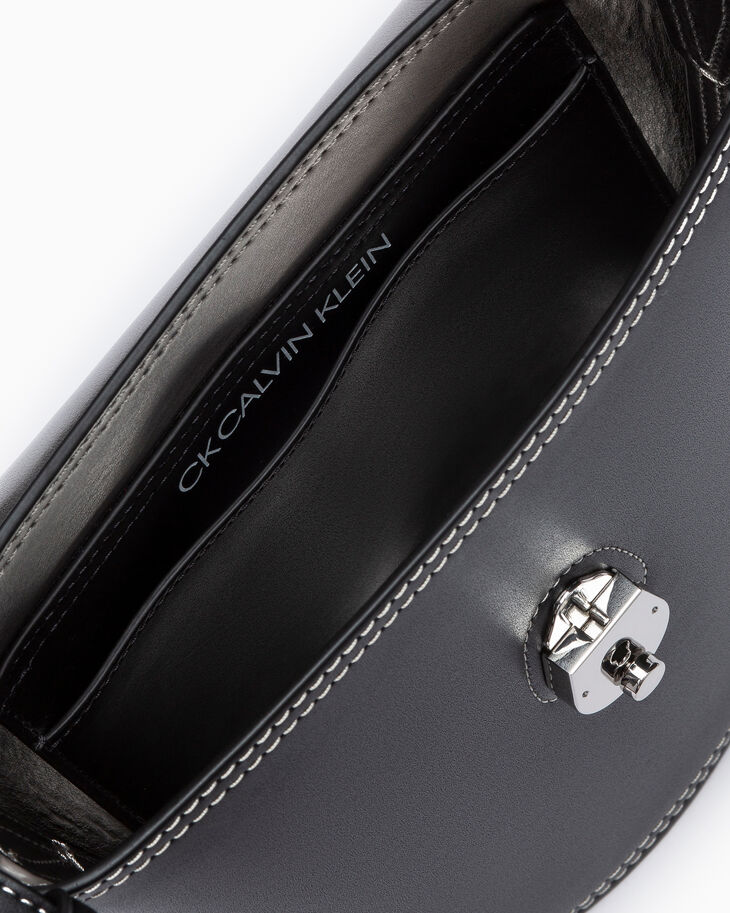 CALVIN KLEIN SMALL LOCK BUCKLE CROSSBODY