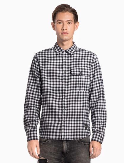 CALVIN KLEIN 깅엄 체크 셔츠