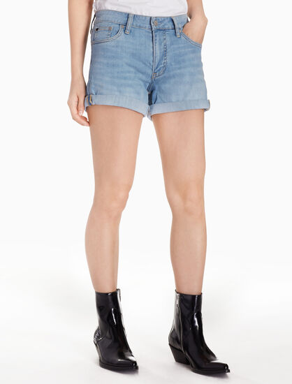 CALVIN KLEIN MID RISE WEEKEND SHORTS