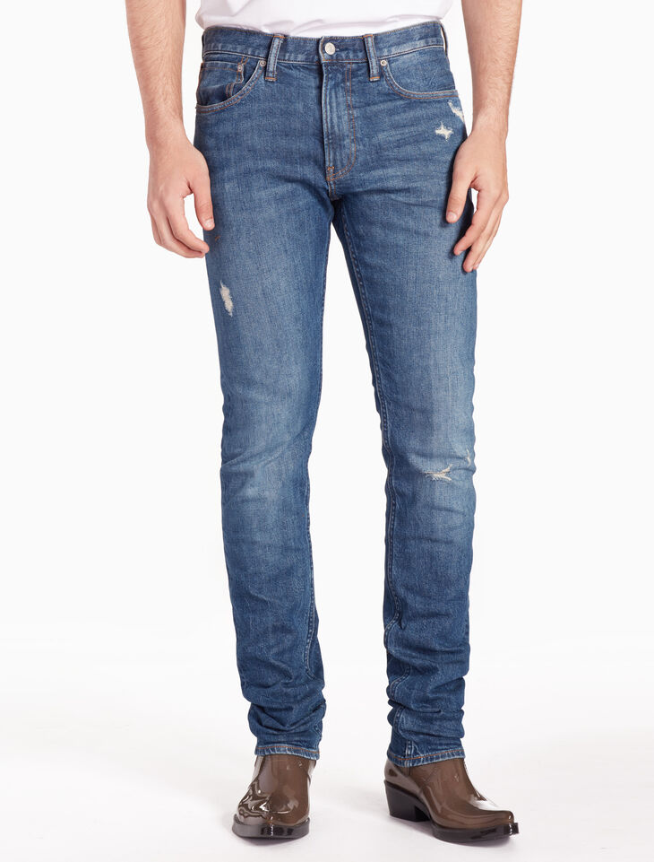 CALVIN KLEIN CKJ 025 MEN SLIM STRAIGHT JEANS