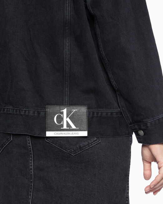 CALVIN KLEIN CK ONE OVERSIZED FOUNDATION 재킷