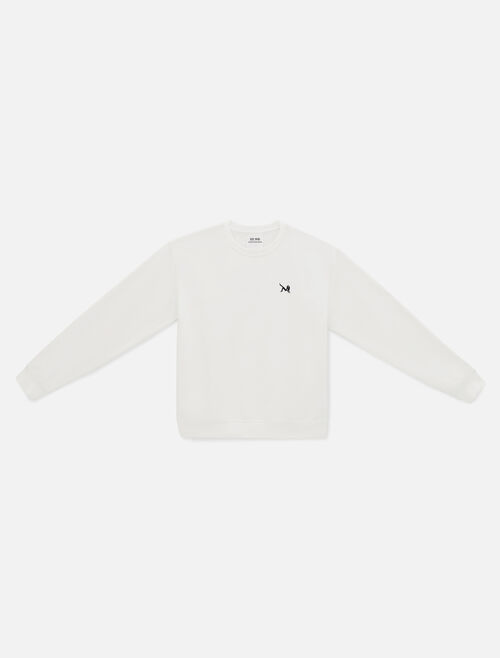 CALVIN KLEIN EST 1978 ICON EMBROIDERED CREWNECK SWEATSHIRT