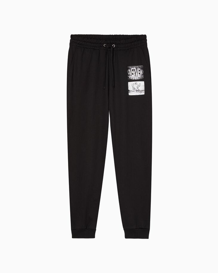 CALVIN KLEIN GRAPHIC PRINT SWEATPANTS