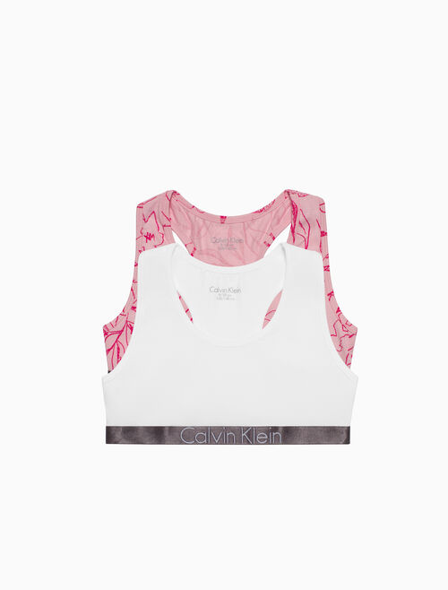 CALVIN KLEIN 2 PACK BRALETTE FOR GIRLS