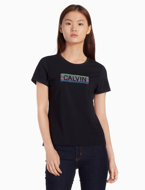 CALVIN KLEIN PRIMA COTTON LOGO GRAPHIC T シャツ
