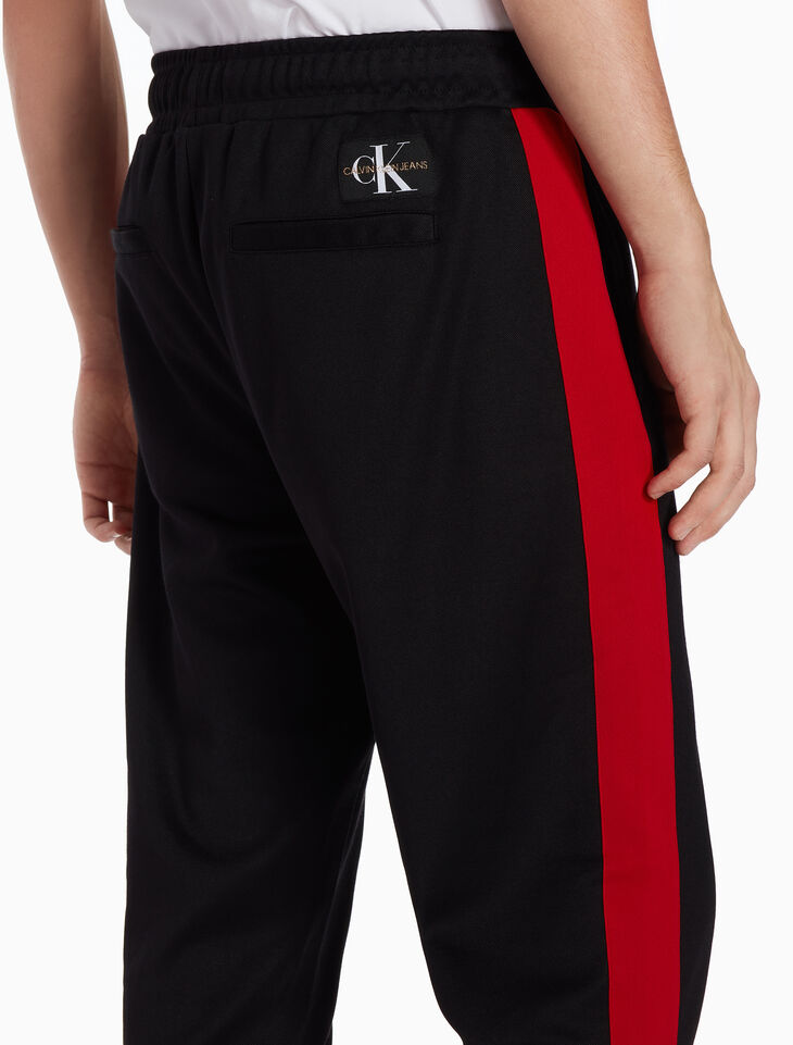 CALVIN KLEIN SIDE STRIPE TRACK PANTS