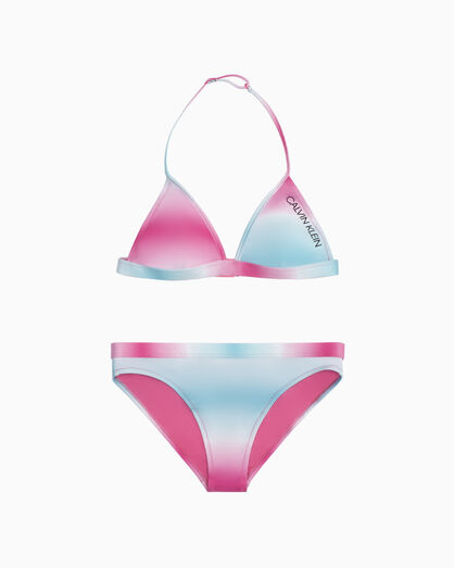 CALVIN KLEIN GIRLS TRIANGLE SET