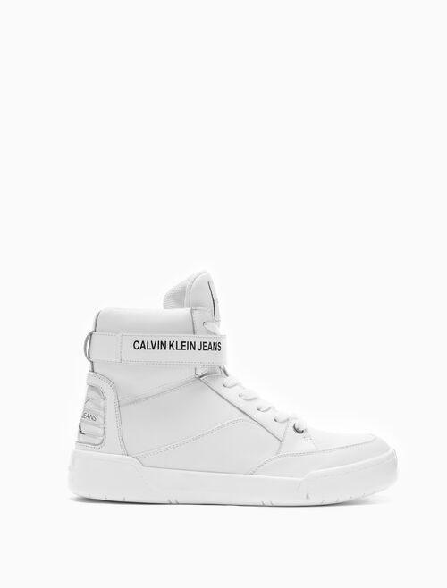 CALVIN KLEIN NELDA HIGH TOP SNEAKERS