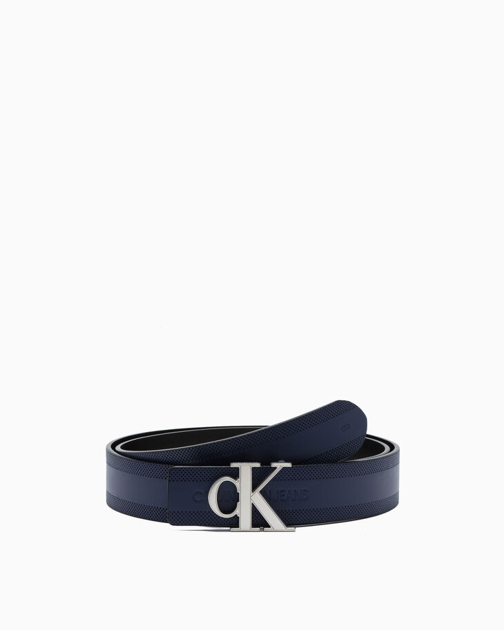 CALVIN KLEIN CK LOGO BUCKLE BELT 35MM