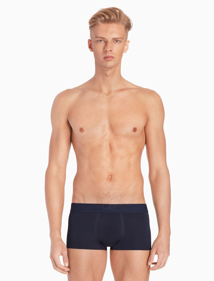 CALVIN KLEIN CK BLACK BONDED TRUNKS