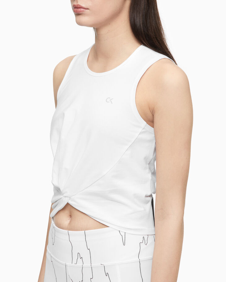CALVIN KLEIN ACTIVE ICON CROPPED VEST