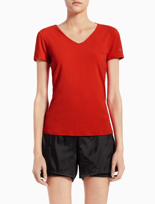 CALVIN KLEIN HOLLOW-BACK TEE