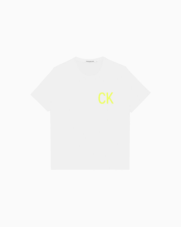 CALVIN KLEIN CK 로고 티셔츠