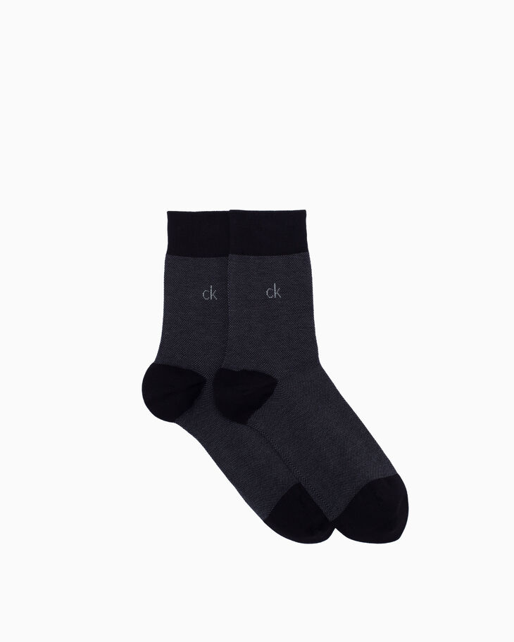 CALVIN KLEIN LOW COTTON CREW SOCKS 3 PACK