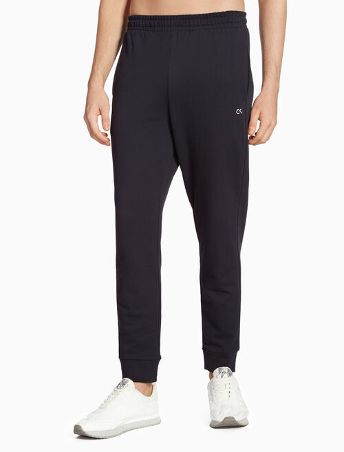 CALVIN KLEIN BOX LOGO SWEAT PANTS
