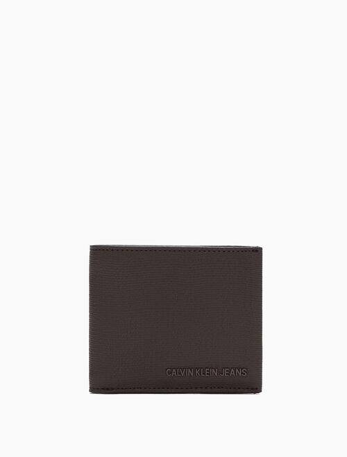 CALVIN KLEIN BILLFOLD WALLET WITH COIN CASE