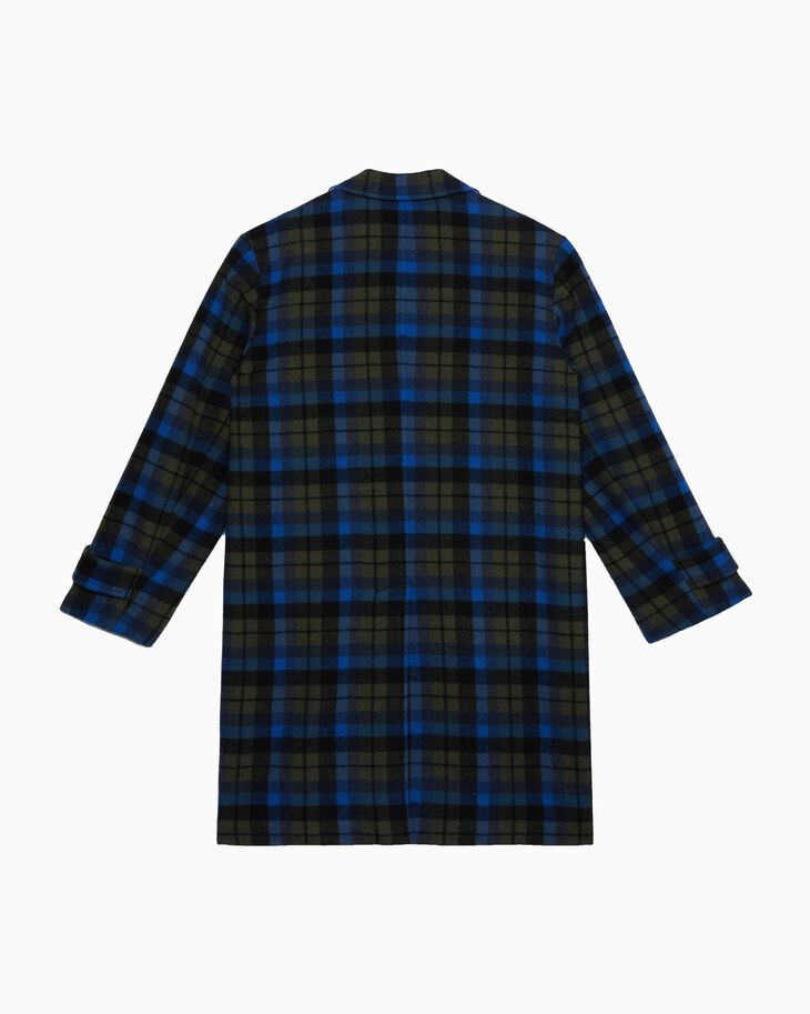 CALVIN KLEIN FLANNEL COAT