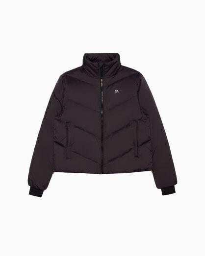 CALVIN KLEIN GRAPHIC 다운 재킷