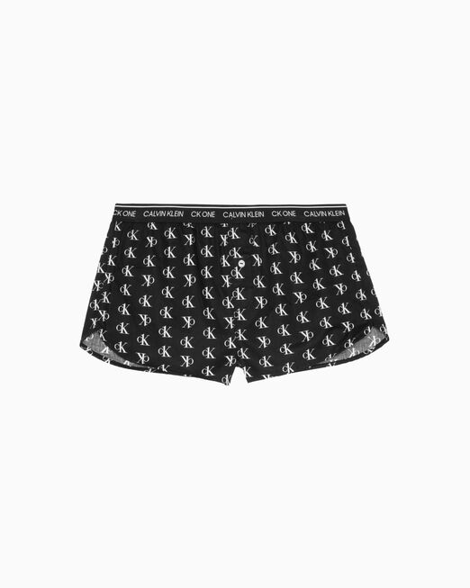 CALVIN KLEIN CK ONE WOVEN COTTON SLEEP SHORTS