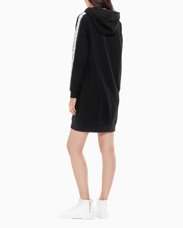 CALVIN KLEIN WOMEN MONOGRAM TAPE SWEAT DRESS