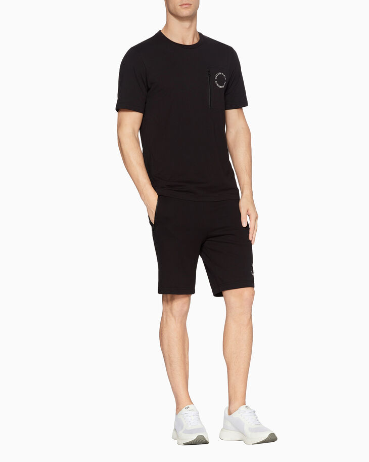 CALVIN KLEIN SPACE LINES SHORT SLEEVE TEE