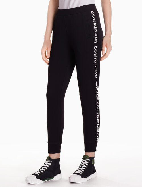 CALVIN KLEIN INSTITUTIONAL LOGO PANTS