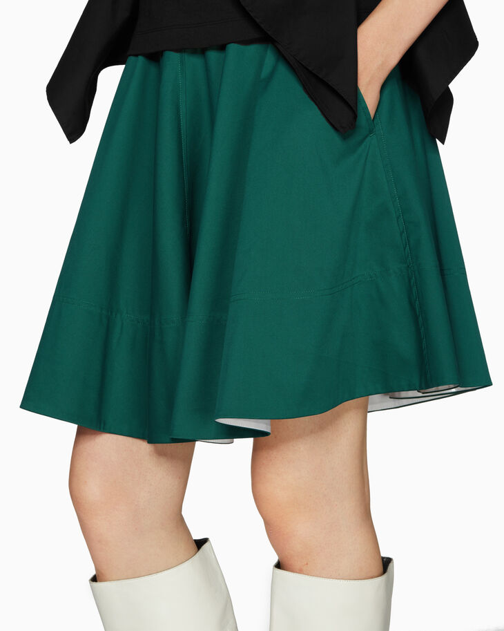 CALVIN KLEIN TWILL サーキュラースカート